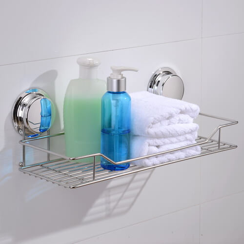 chrome suction shelf 268020 using