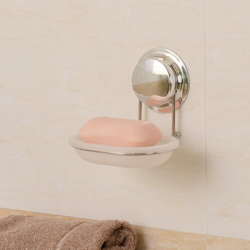 soap dish with suction cup 268001 using