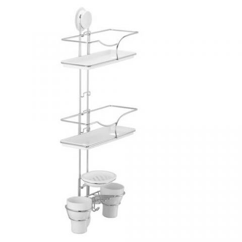 suction bathroom ladder shelf 260017