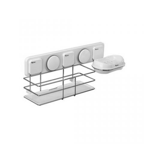 suction bathroom wall organizer 263006