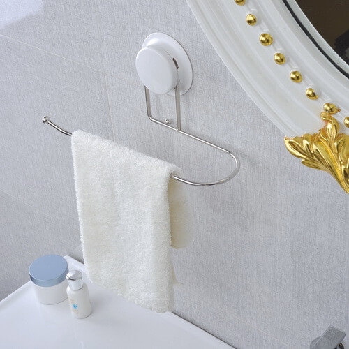 suction cup towel holder 260010 using