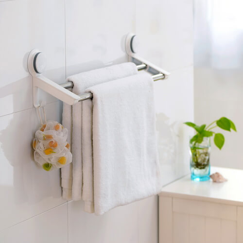 suction cup towel rack 265002 using