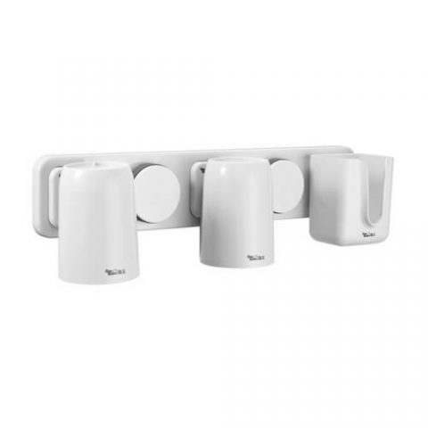 suction toothbrush and toothpaste holder 263001