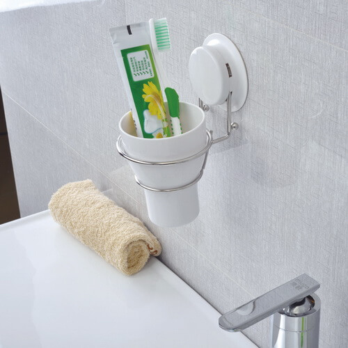 suction toothbrush holder 260025 using