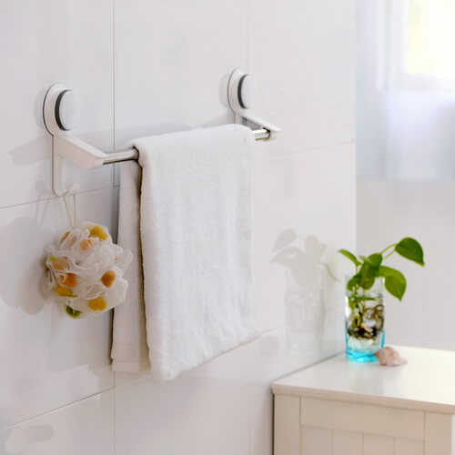 suction towel bar 265001 using