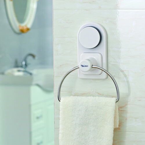 suction towel ring 261006 using